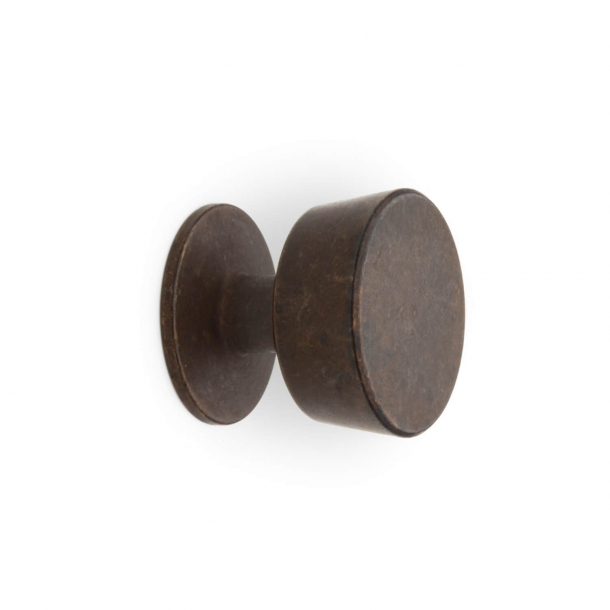 Furniture Button 151 - Browned brass - Omporro 25 mm