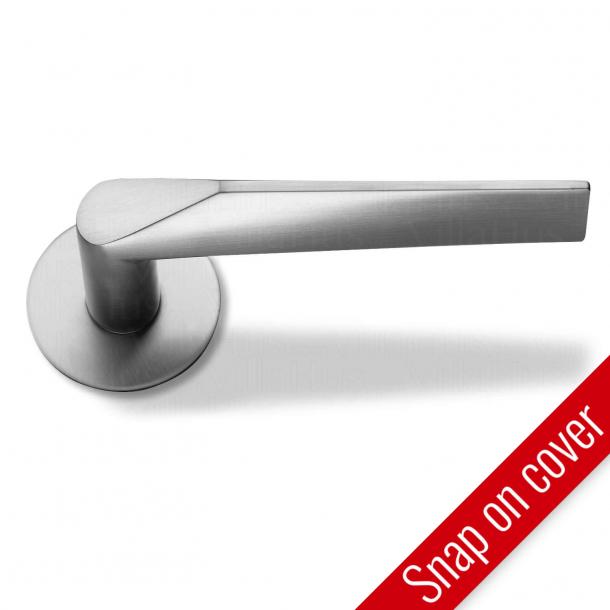 RANDI door handle Komé - Stainless steel - Snap-on-cover