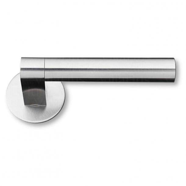 Dörrhandtag - Borstat stål - GRATA - Modell 1077 - cc38mm
