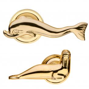 Delfin och valross