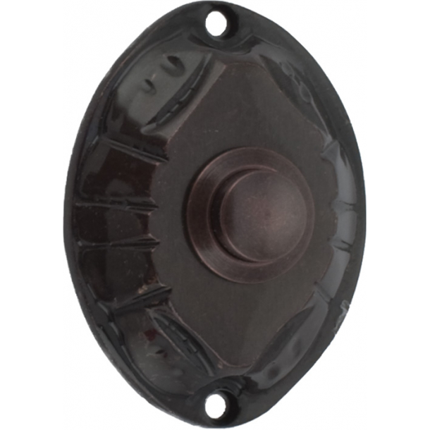 Bell push - Oxidized Brass - Model 543