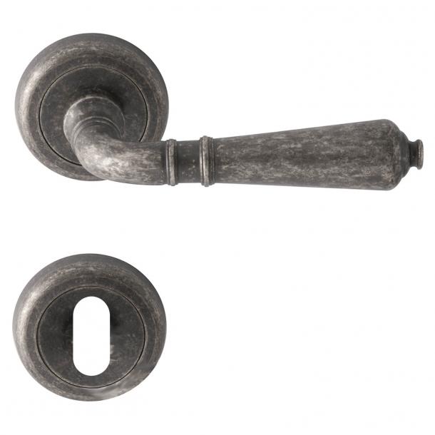 Dörrhandtag Antik Iron, Inomhus - Modell ANTIK