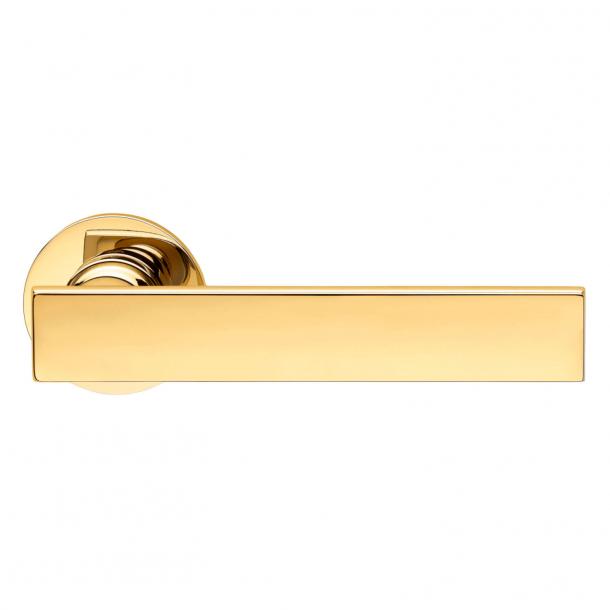 DND Door Handle - Antique bright gold - Marco Pisati - Model lUCREZIA