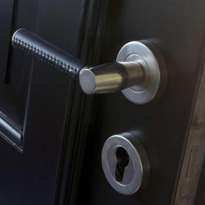Dörrhandtag C1012 - Läderhandtag - Turnstyle Design - Sy utåt
